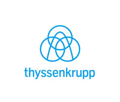 thyssenkrupp logo (PRNewsfoto/thyssenkrupp)