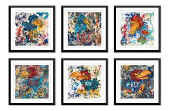 Kansas Artist and KU Alumna Paints