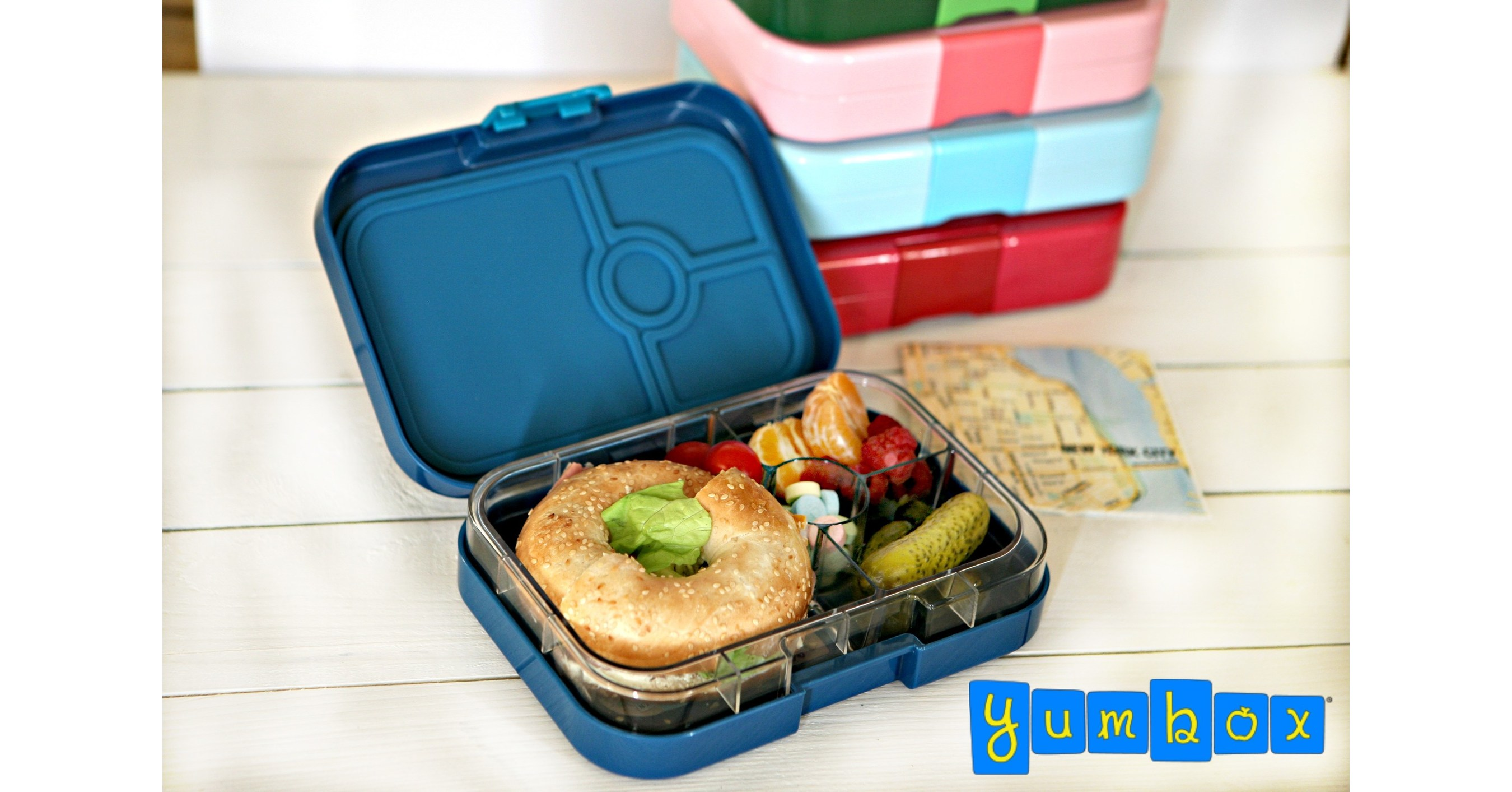 yumbox bento lunch box smart gift idea for the holidays. Black Bedroom Furniture Sets. Home Design Ideas