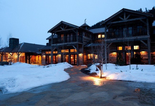 The Ranch at Rock Creek offers guests the perfect winter getaway