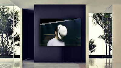 """Bowler"" represents the distinctive work of accomplished Italian photographer, Gio Staiano, whose portrait style blurs the boundaries by not allowing the camera to totally reveal who the subject is. Limited editions at afterwhite.com"