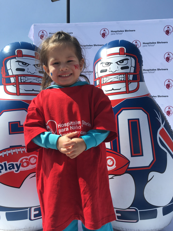 NFL hosts PLAY 60 All-Ability event at Shriners Hospitals for Children -- Mexico