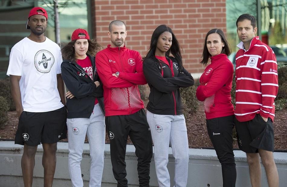 Official Team Uniform for 2018 Canadian Commonwealth Games Team Unveiled (CNW Group/Commonwealth Games Association of Canada)