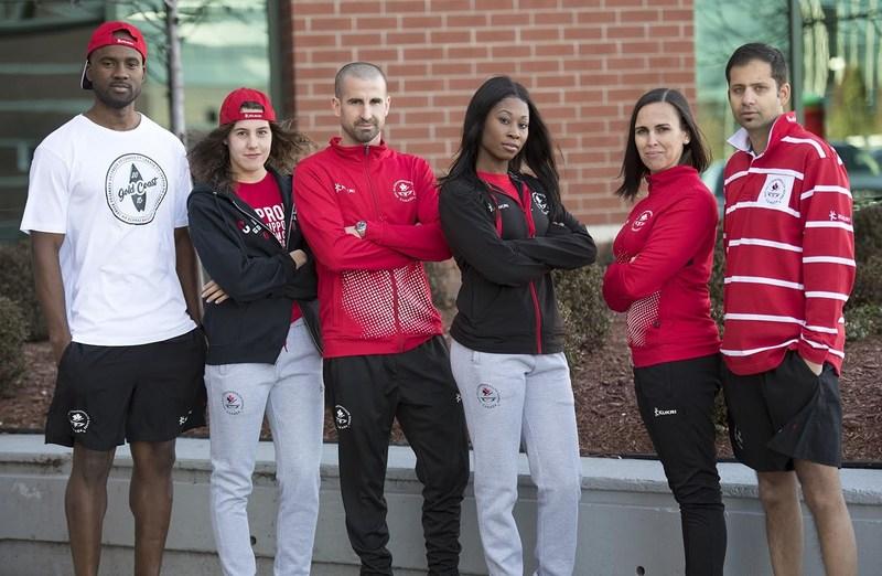 L'uniforme de l'équipe canadienne des Jeux du Commonwealth de 2018 dévoilé (Groupe CNW/Commonwealth Games Association of Canada)