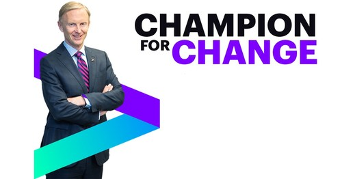Morris was selected for his role as a champion for change; for making a profound and measurable impact; and for bettering the experience of employees, clients and the broader community. (CNW Group/Accenture)