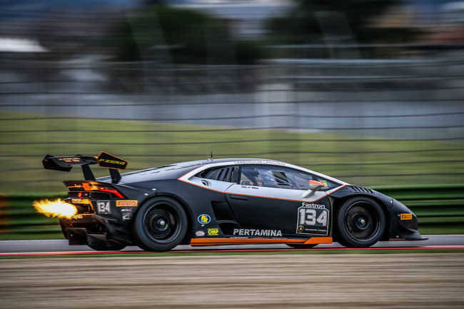 Jeroen Mul Finished Second in the Pro Category in Both Rounds 11 and 12 in Lamborghini Super Trofeo North American Competition