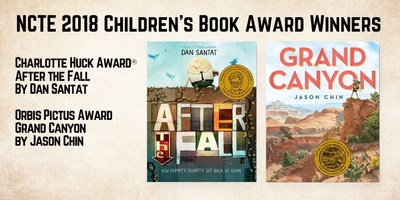 The National Council Of Teachers Of English (NCTE) Announces Winners Of Prestigious Book Awards At 107th Annual Convention