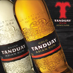 Tanduay Rum  is made from world class, heirloom sugarcane from the Tropical Islands of the Philippines. Two expressions available in the USA is the Tanduay Gold, aged up to 7 years and Tanduay Silver, aged up to five years in used Bourbon Barrels. Visit TanduayUSA.com for more information on our Multi Awarded Tanduay Rum from the Philippines.