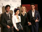 Credit, Noa Grayevsky - JCS International President Michal Grayevsky (second from right) with the 2017 Young Creatives Award Winners Roberto Pino Almeyda, Ewing Luo and Eisa Alhabib. (PRNewsfoto/JCS International)