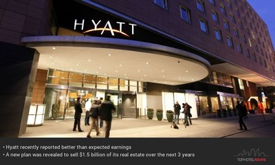 Hyatt Moves to Sell $1.5 Billion in Real Estate (PRNewsfoto/TOPHOTELPROJECTS)