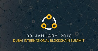 Dubai International Blockchain Summit January 2018