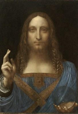 Salvator Mundi de Leonardo Da Vinci (PRNewsfoto/Artprice.com)