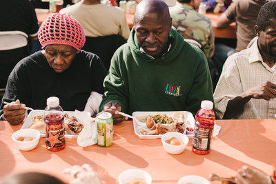 Thanksgiving at the Fred Jordan Mission