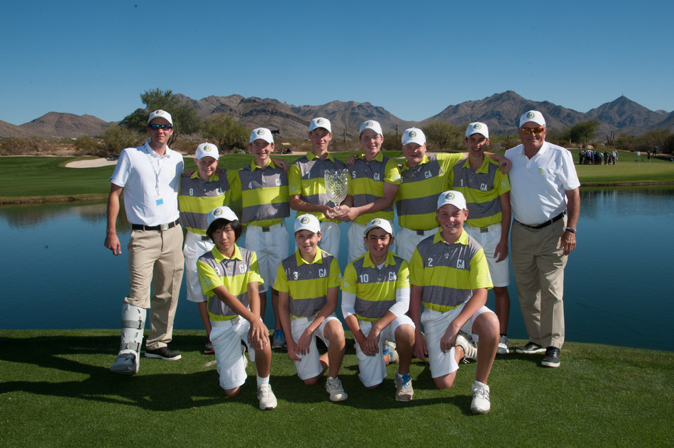 Team Georgia captured the National Championship at the 6th PGA Jr. League Championship presented by National Car Rental at Grayhawk Golf Club in Scottsdale, Arizona.