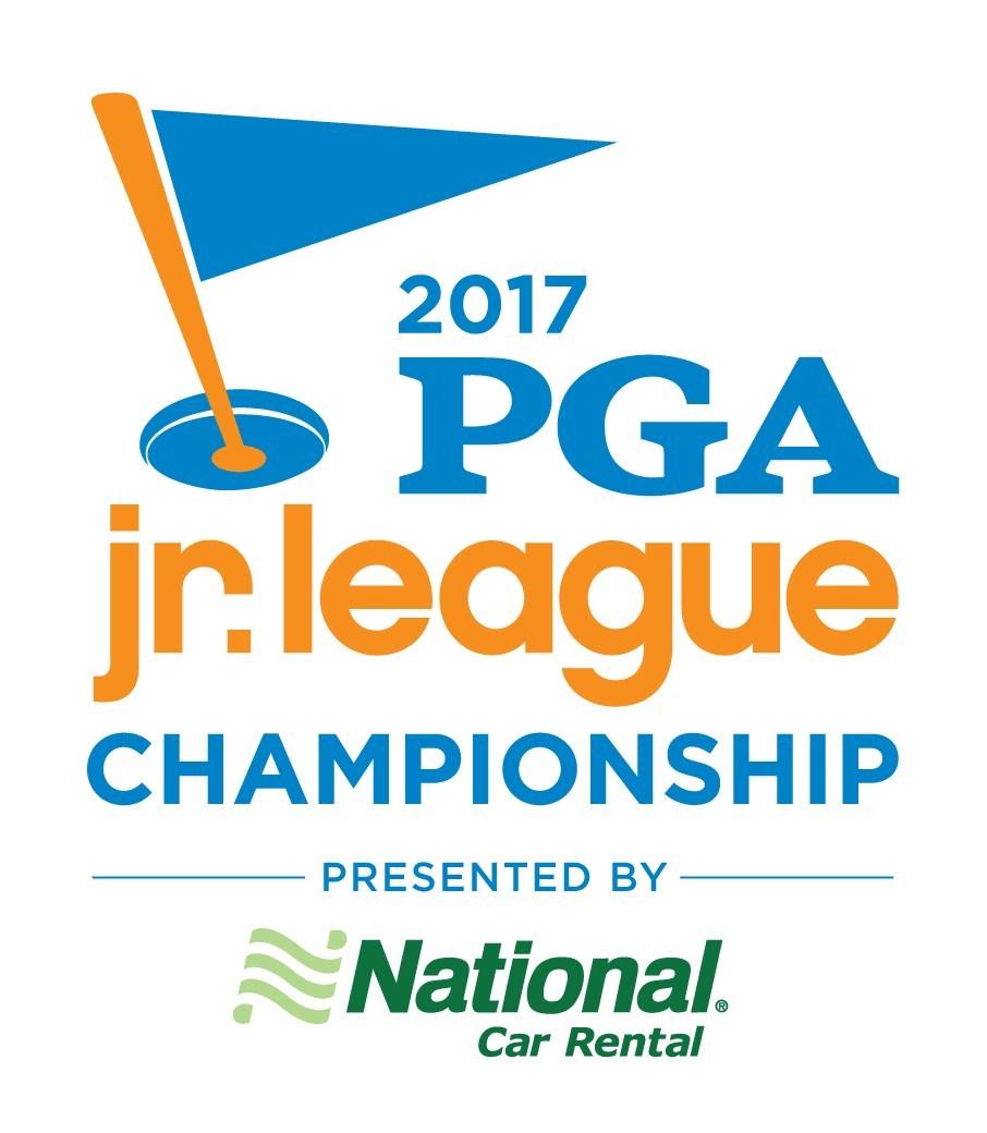 2017 PGA Jr. League Championship presented by National Car Rental logo.