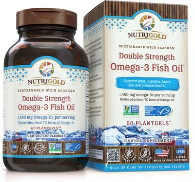 Nutrigold raises the bar again with omega 3 fish oils in for Non fish omega 3