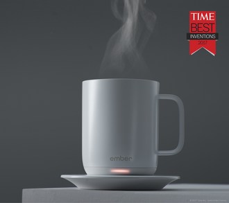 Ember® Ceramic Mug Featured in TIME Magazine's 25 Best Inventions of 2017