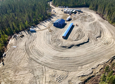 Bonterra Completes All-Season Exploration Camp to Support Expanding Resource Development Program at Gladiator Gold Project (CNW Group/BonTerra Resources Inc.)