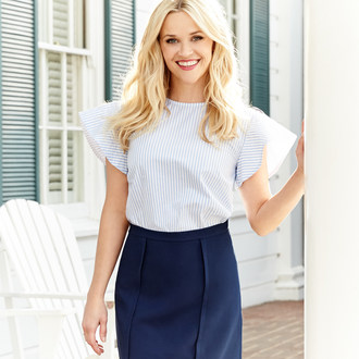 The Savannah College of Art and Design (SCAD) is partnering with Draper James, Reese Witherspoon's fashion lifestyle brand, to design a limited edition capsule collection for the brand's Spring line.