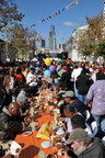 Preparing To Feed 2,500 Homeless And Poor People On Skid Row At The Fred Jordan Mission