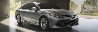 The 2018 Toyota Camry is available now at Allan Nott Auto.