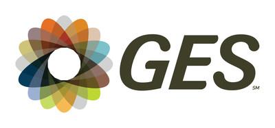 GES logo (PRNewsfoto/ON Services, a GES company)
