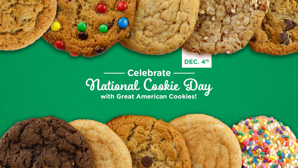 Free Cookie at Great American Cookies on Dec. 4.