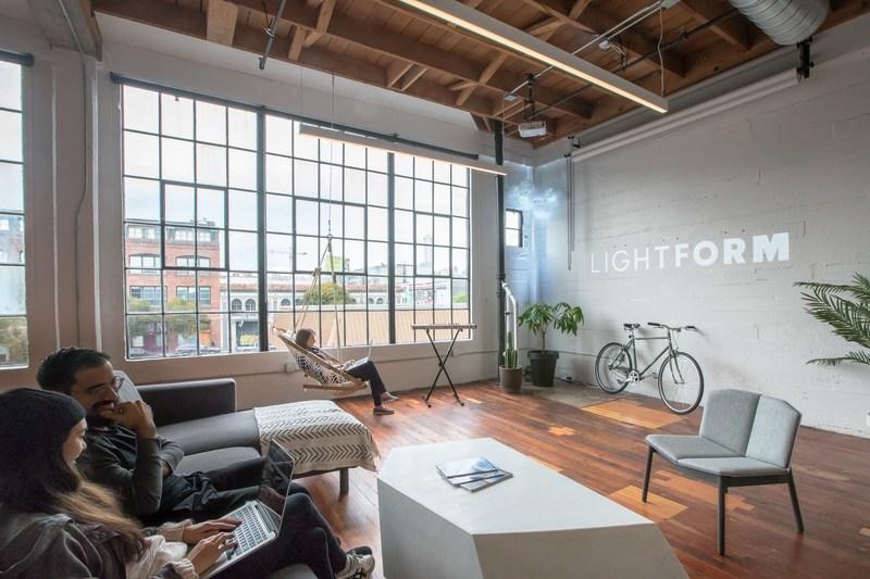 Lightform Office located in SOMA San Francisco, CA