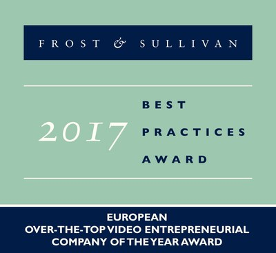 2017 European Over-the-Top Video Entrepreneurial Company of the Year Award