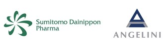 Sumitomo Dainippon Pharma and Angelini (PRNewsfoto/Sumitomo Dainippon and Angelini)