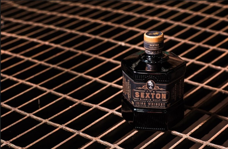 Introducing the Sexton Single Malt Irish Whiskey a modern malt for every man. Consciously aged in Oloroso Sherry casks for an approachable single malt, rich in hue and bold in personality. (PRNewsfoto/The Sexton Single Malt Irish Wh)