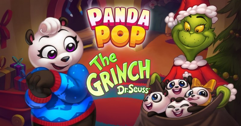 Grinch Comes to Jam City's Panda Pop (www.jamcity.com)