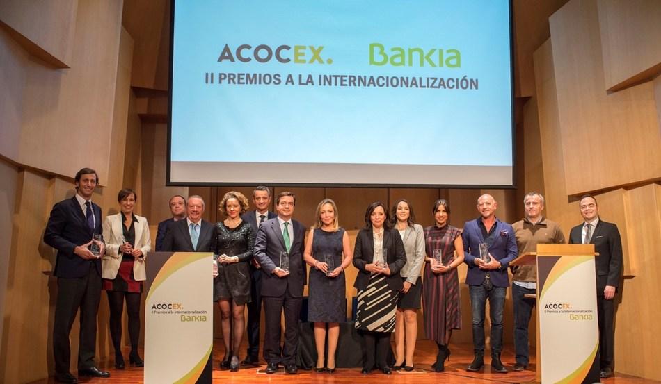 EDIBON International at the National Export Awards (PRNewsfoto/EDIBON International)