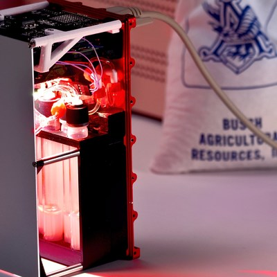 As shown here, the barley seeds will be placed in Space Tango CubeLabs™, shoebox-sized facilities that host small-scale experiments, on SpaceX's CRS-13 mission. The seeds will be in orbit for approximately 30 days, before being brought back down to earth for Budweiser's innovation team to analyze.