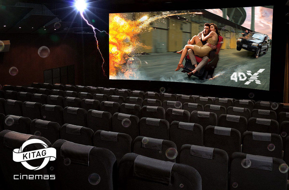 A new 4DX theatre at the KITAG CINEMAS Abaton in Zurich