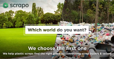 The Silicon Valley startup Scrapo is helping preserve the environment by facilitating recyclables trading