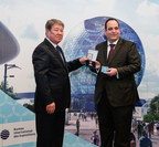 Chairman of Astana EXPO 2017 Presents the Order of Friendship to Secretary General of the BIE