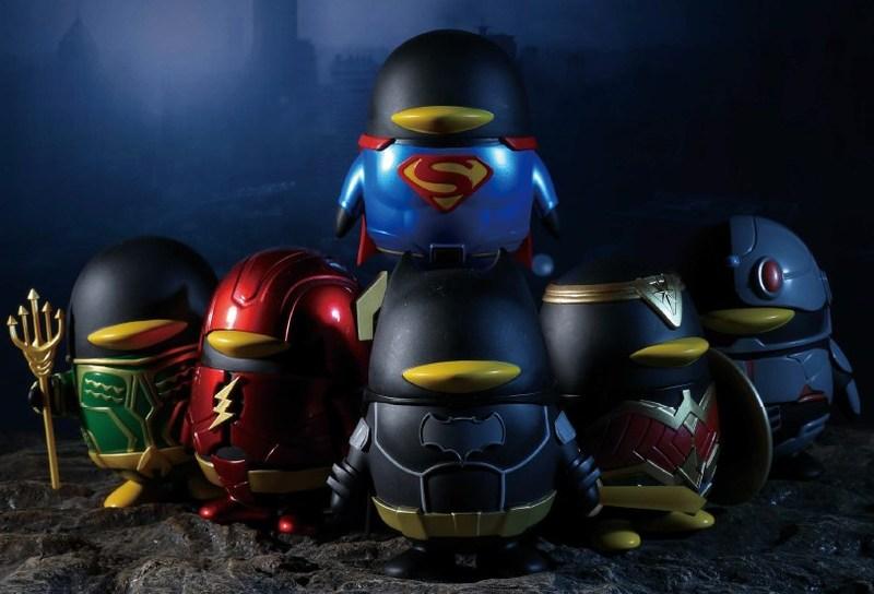 La poupée comarquée de QQ & Justice League