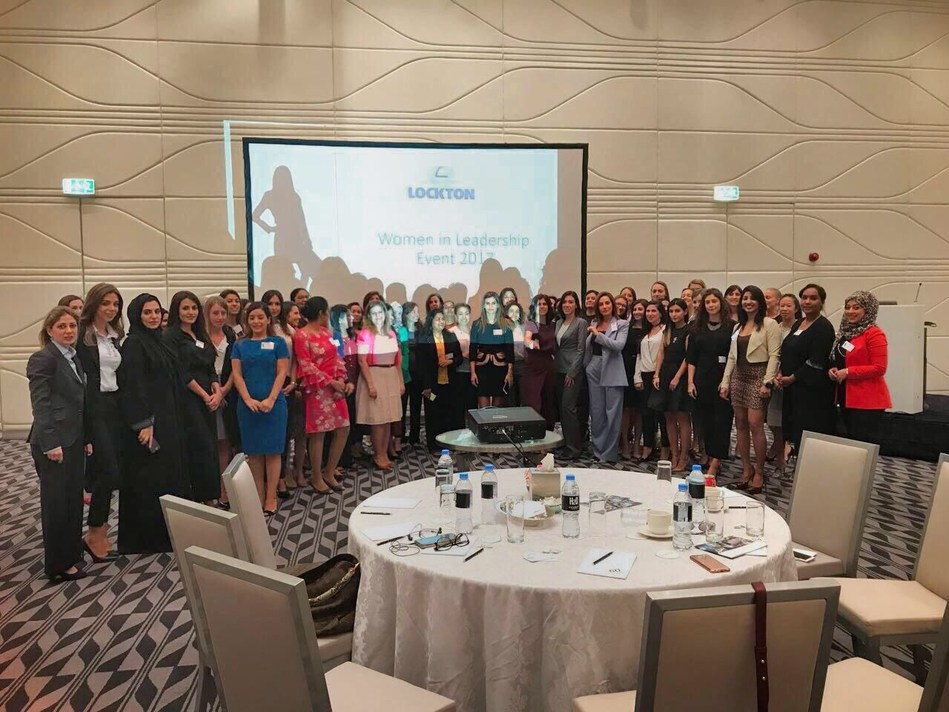 Over 60 of Lockton's female staff and clients gathered to understand the psychology of successful women (PRNewsfoto/Lockton)