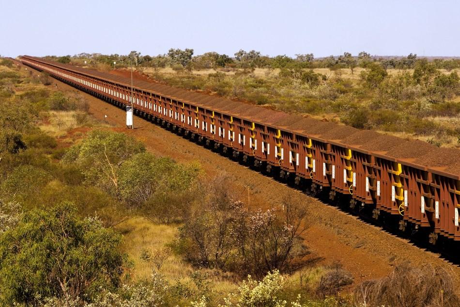 Rio Tinto Heavy Haul Train (PRNewsfoto/Ansaldo STS)