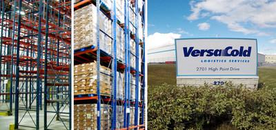 Le Centre de distribution de VersaCold à Milton (Groupe CNW/Les Services de logistique de VersaCold)