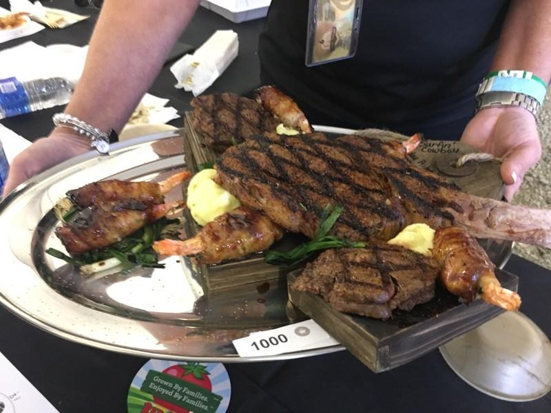 The winning dish