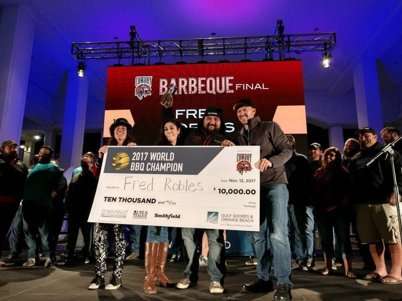 Fred Robles named World Barbecue Food Champion