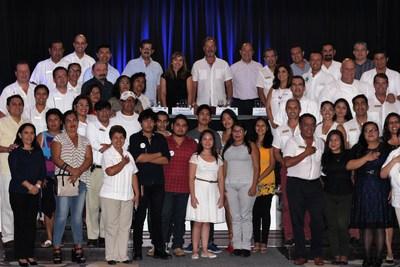 Ceremonia de inauguración de YCI generación 2017-2018 en Hyatt Zilara Cancun
