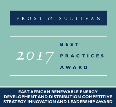 Frost & Sullivan recognizes Rift Valley Energy with its 2017 East African Competitive Strategy Innovation and Leadership Award.
