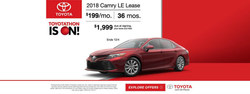 Yuma drivers looking to save on the flagship Toyota Camry sedan can do so with local dealership Bill Alexander Toyota.