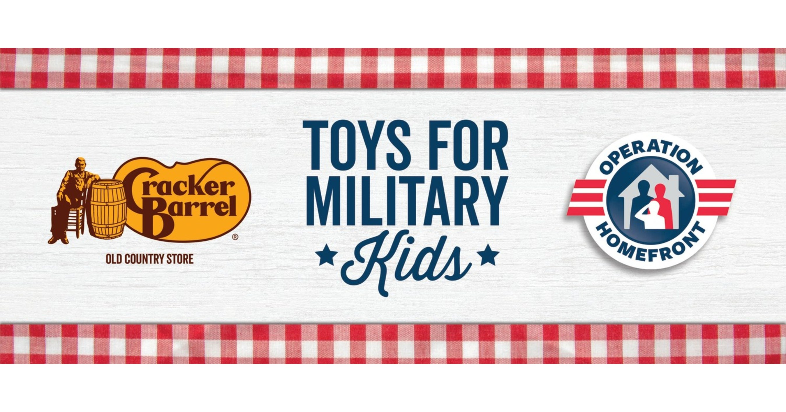 Cracker Barrel Toys : Military kids to receive toys with the help of cracker
