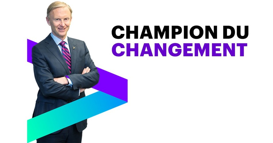 Bill Morris, président d'Accenture au Canada, a reçu le prix Avant-garde en matière d'inclusion 2017 dans le cadre des Prix Top 100 du programme des Femmes les plus influentes au Canada. (Groupe CNW/Accenture)
