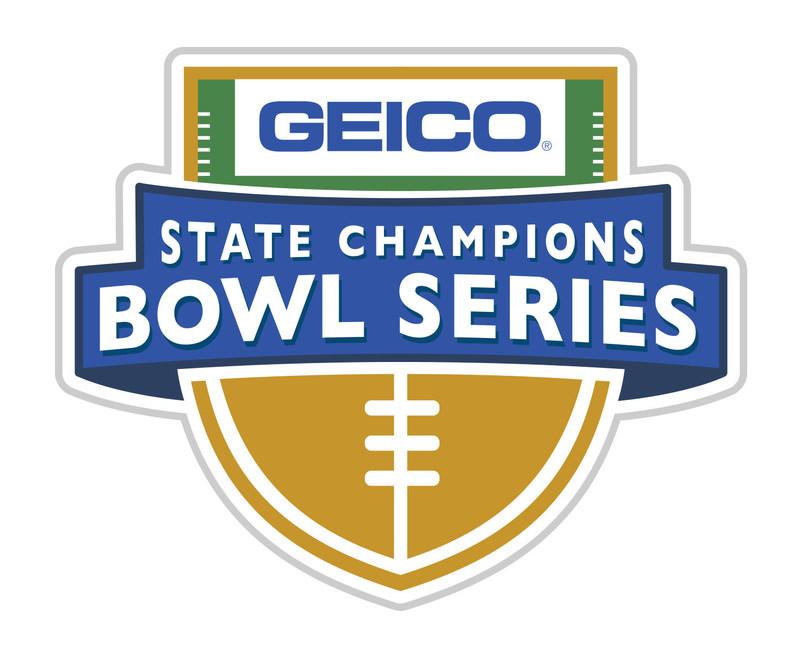 GEICO State Champions Bowl Series, Saturday, December 23 at 6pm & 9:30pm EST, Live on ESPNU from Grand Canyon University Stadium in Phoenix, Arizona.