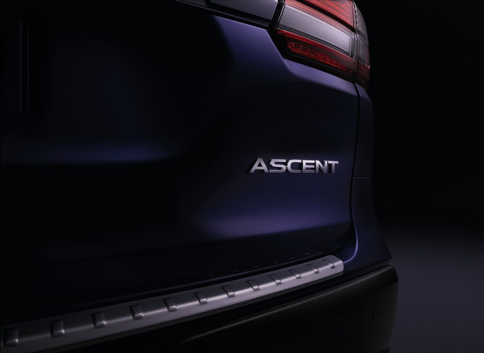 All-New 2019 Subaru Ascent to Debut at 2017 L.A. Auto Show (CNW Group/Subaru Canada Inc.)